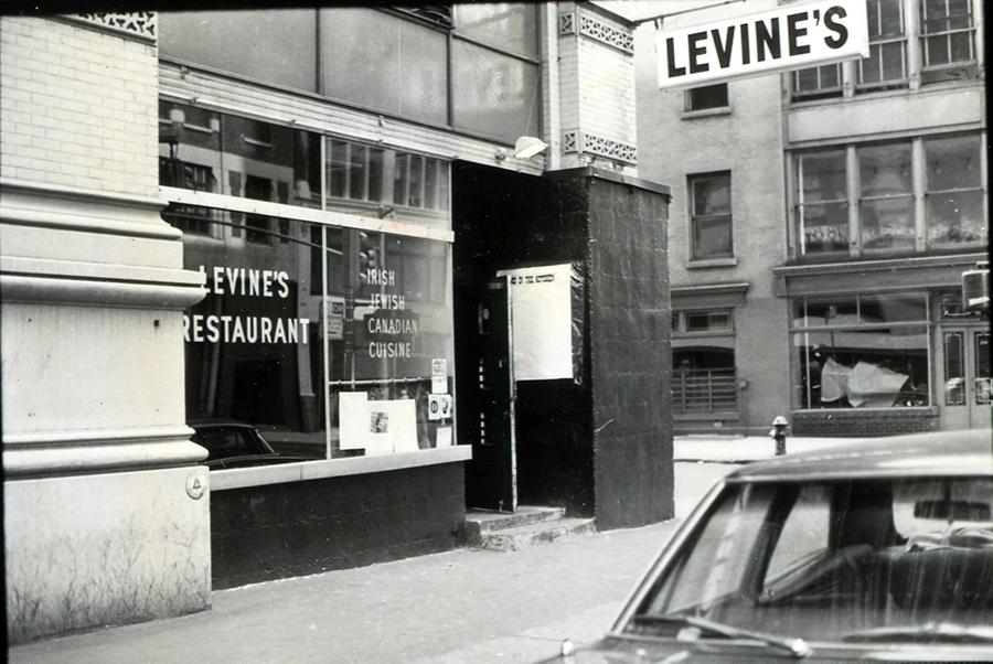 Levine's restaurant 1